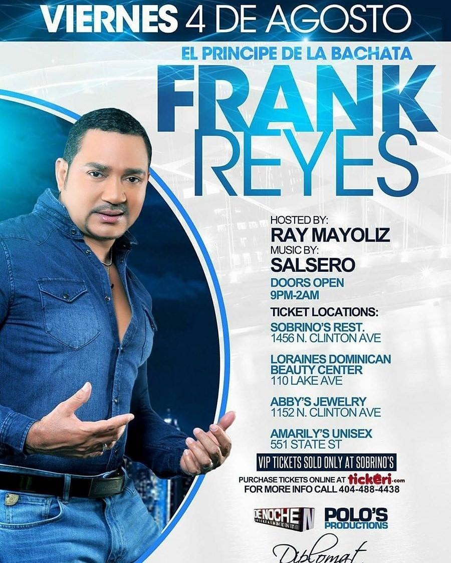 Frank Reyes  Tour